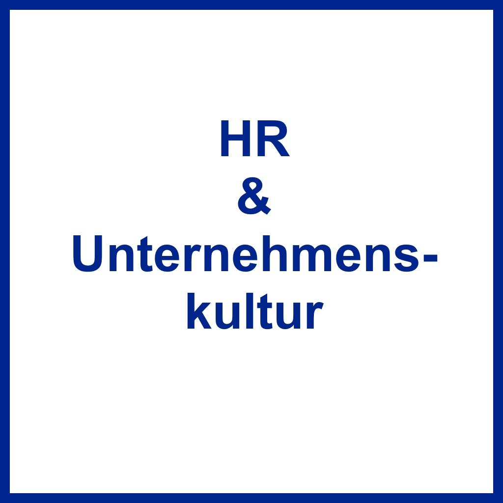 <br /> HR &amp; Unternehmenskultur