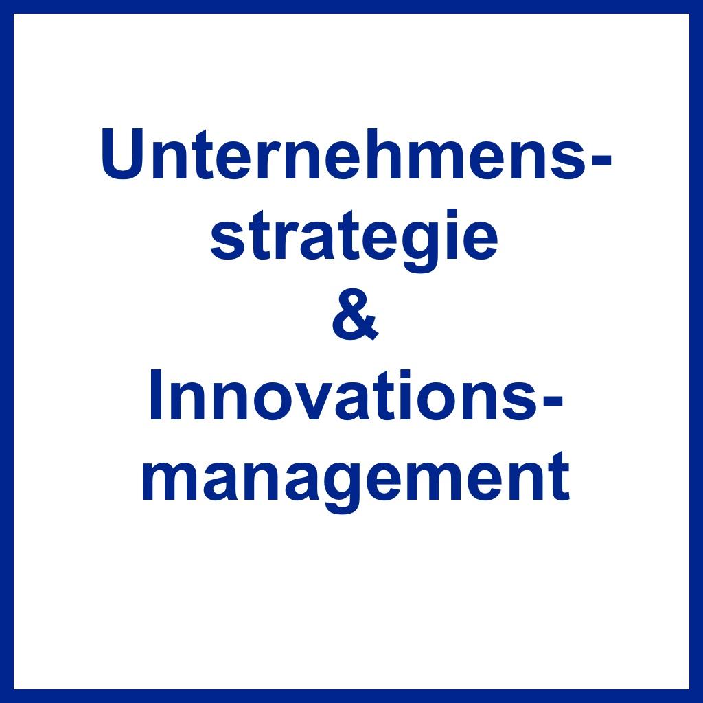 <br /> Unternehmensstrategie &amp; Innovation